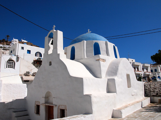 Church in Ios Chora