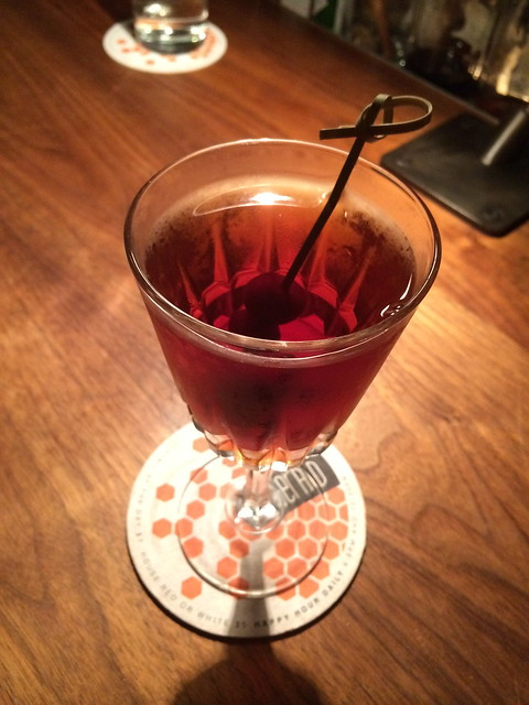 Manhattan cocktail - The Gerald