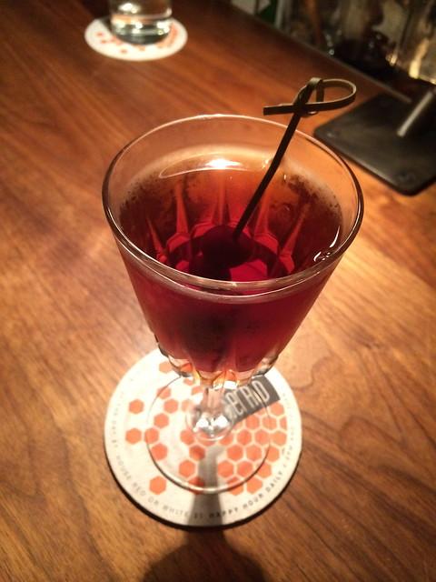Manhattan cocktail - The Gerald