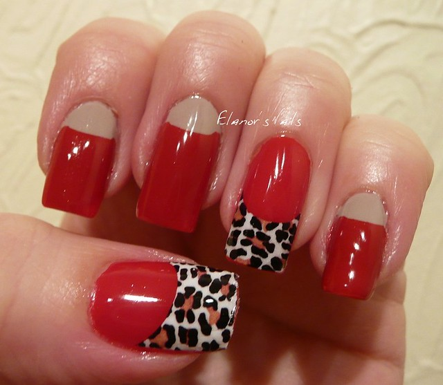 red + leopard print tip decal 1