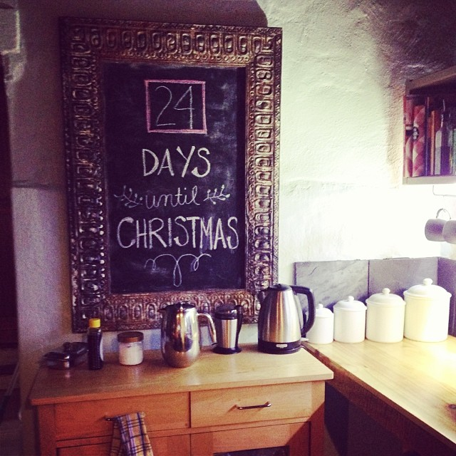 The countdown has begun! #Christmas