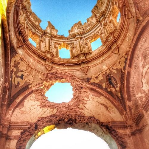 Belchite #belchite #war #civilwar #spain #igers #iglesia #church #pueblo #zaragoza #igerszaragoza #sunset