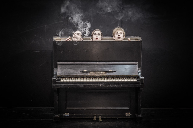 Three in the piano