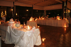 meal(0.0), dinner(0.0), function hall(0.0), wedding(0.0), rehearsal dinner(0.0), restaurant(1.0), party(1.0), ballroom(1.0), centrepiece(1.0), ceremony(1.0),