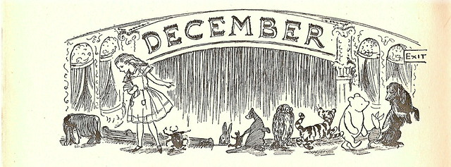 by E.H. Shepard (1952) - a decoration for 'Year In, Year Out' by A.A. Milne
