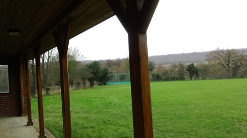 Otford oval cricket ground
