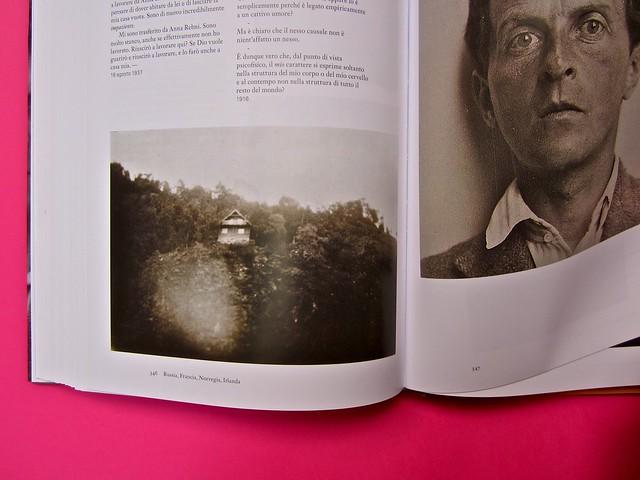 Michael Nedo (a cura di), Una biografia per immagini. Carocci 2013. Progetto grafico di Shoko Mugikura e Michael Nedo. Falcinelli & co. per l'ed. it. Pag. 346 e 347 (part.) 1