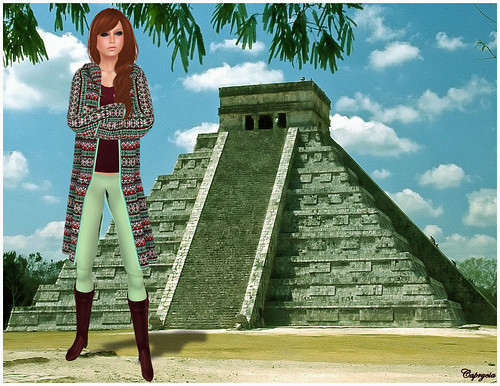 Tribal Nation Aztec For AvaGirl by ♥Caprycia♥