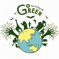 2010地球日40週年LOGO_Go Green