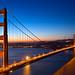 Golden Dawn Bridge - HDR by freestock.ca ♡ dare to share beauty