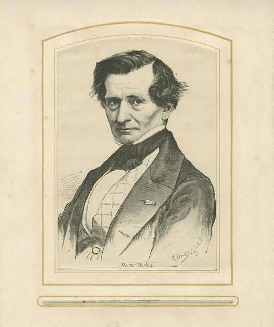Hector Berlioz portrait