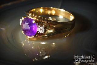 Amethyst Ring | Projekt 365 | Tag 8