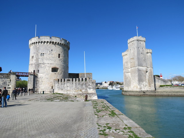 The harbor gate of La Rochelle
