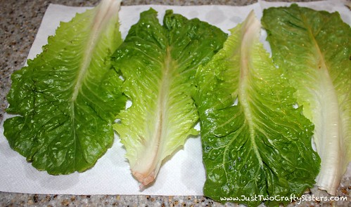 Delicious turkey lettuce wrap recipe