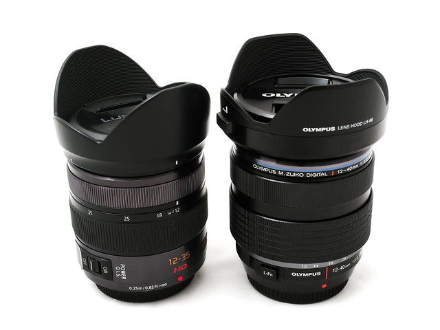Lumix 12-35mm vs Olympus 12-40mm