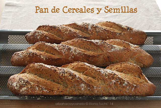 Pan de cereales y semillas