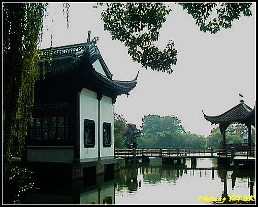 杭州 西湖 (其他景點) - 411 (西湖小瀛洲 小瀛州上的三角亭)