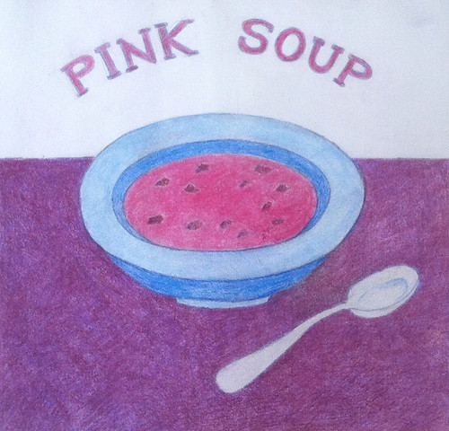 Pink Soup (Illustration as of Feb. 12, 2014) by randubnick