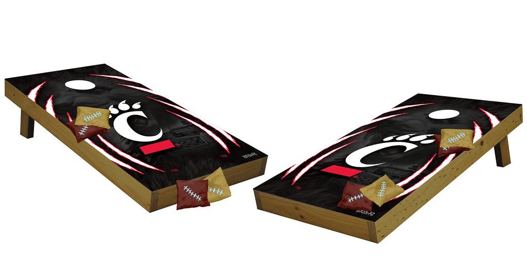 Cincinnati Bearcats Premium Cornhole Boards
