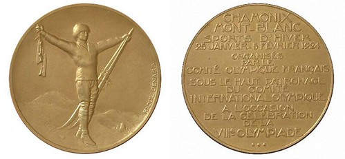 1924 Winter Olympic medal