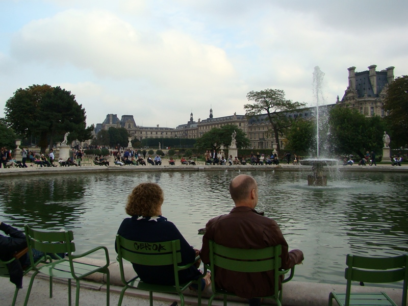 Tuileries fountains