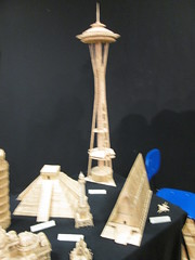 Toothpick space needle