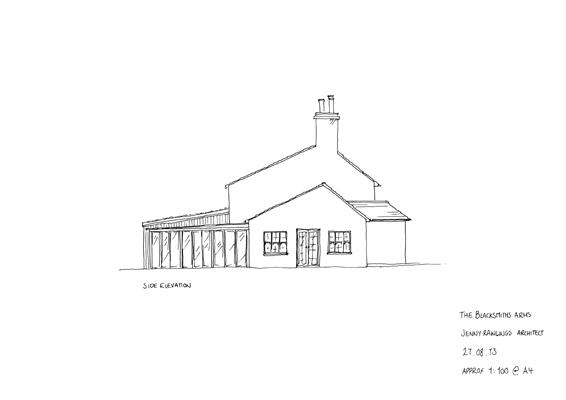 Sketch Side Elevation