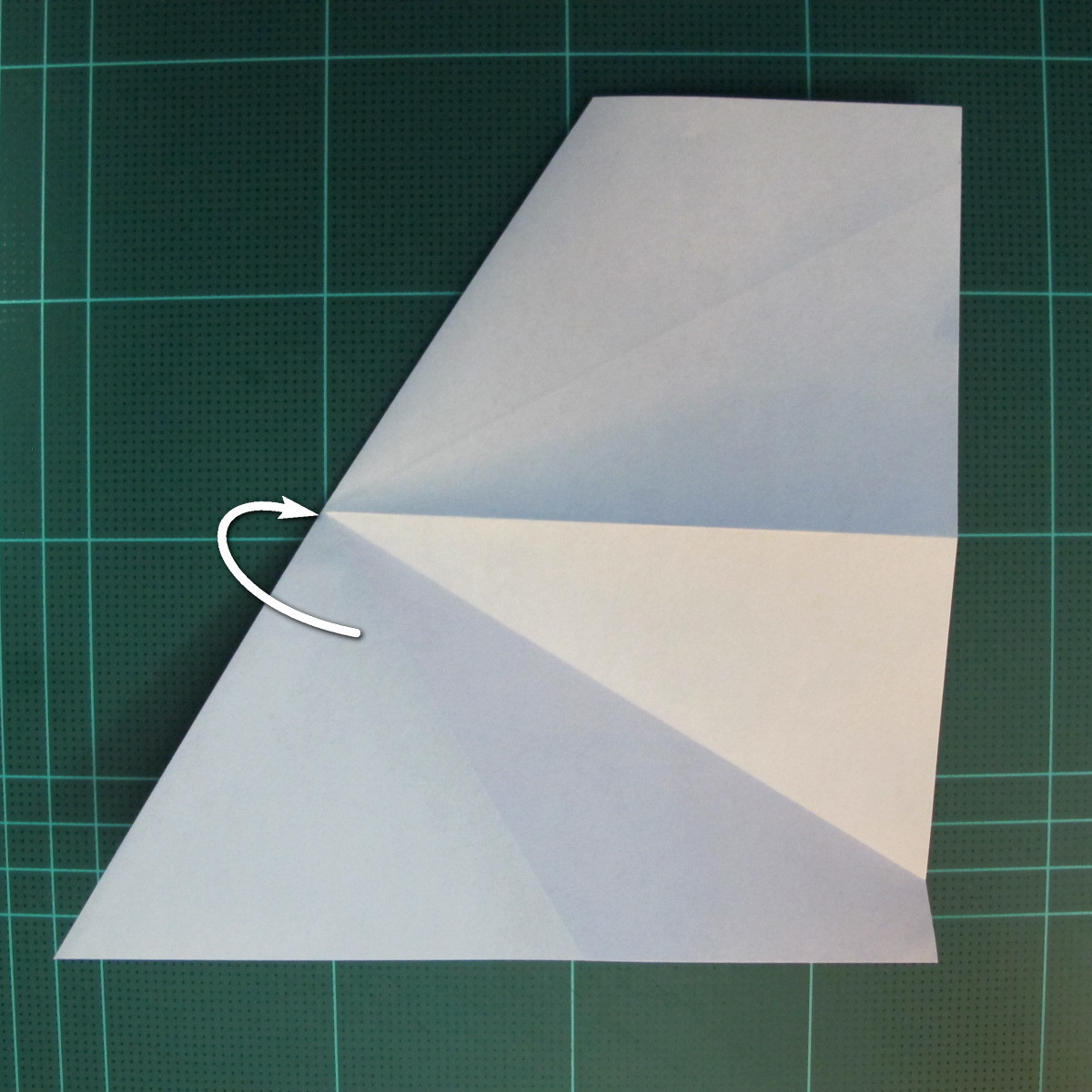 วิธีการพับกระดาษเป็นรูปกบ (แบบโคลัมเบี้ยน) (Origami Frog) 013
