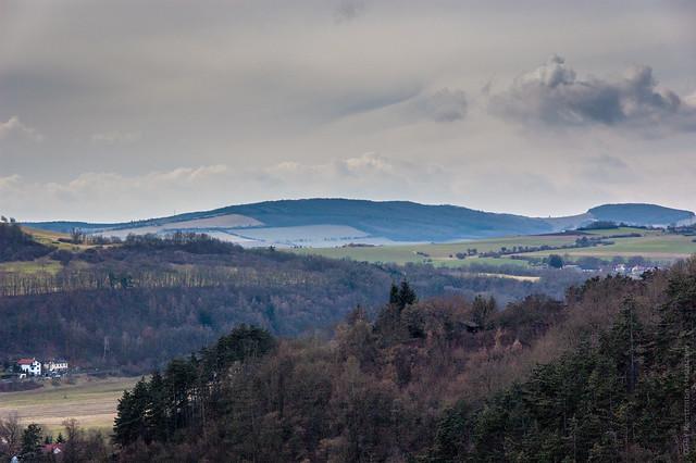 View From Hrad Karlštejn. Czech Republic