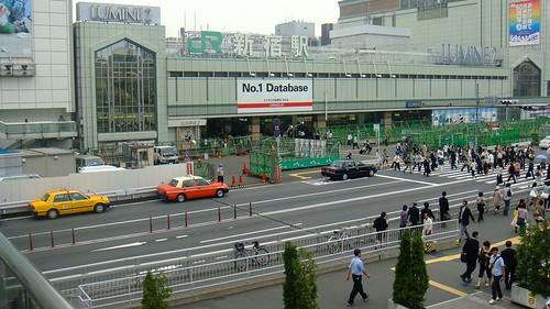 JR Shinjuku Station entrance, Tokyo