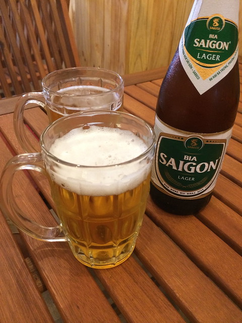 Saigon Green beer - Sisters Cafe