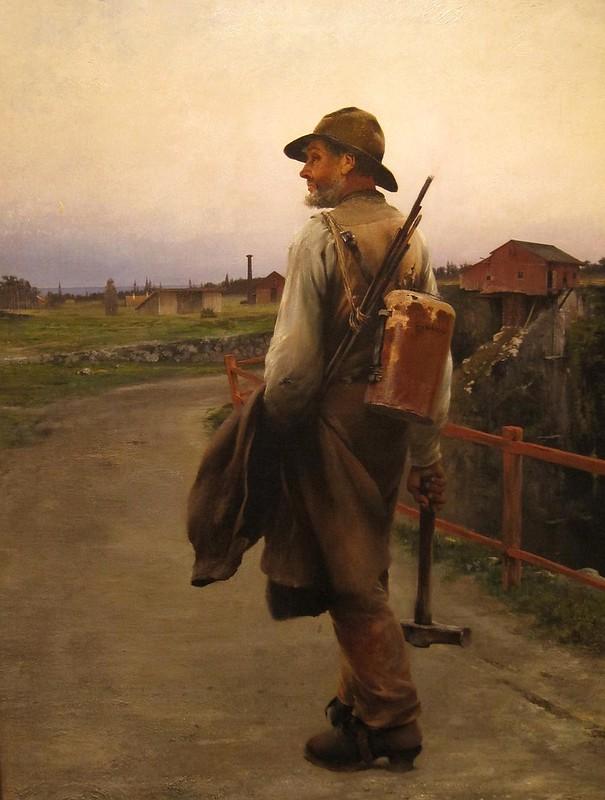 A dynamite worker