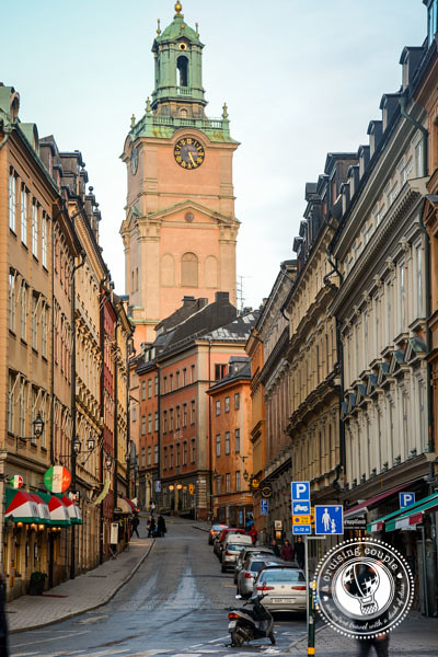 The Streets of Stockholm - A photo gallery of one of Europe's most beautiful cities - The Clock Tower