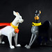 KRYPTO The Superdog and ACE The Bat-Hound by pinoytoygeek