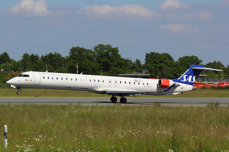 SAS - CRJ9 - OY-KFL