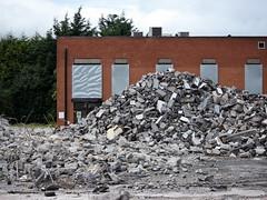 Schering Plough Bray demolition
