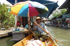 Schwimmende Märkte, Thailand