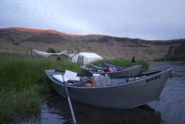 Koffler Boats in camp