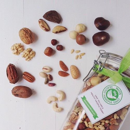 All the nutty tree nuts - @nutsforlife - almost all of them grown in AU too. Do you eat a handful a day? #nutsforlife #ausmacadamias #pistachios #handfuladay