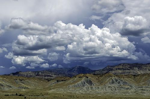clouds landscape utah ontheroad nikond7000