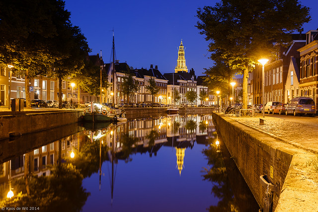 Groningen by night