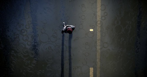 In the Rain - inFAMOUS_Second_Son™