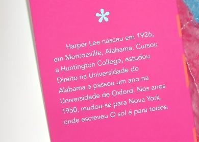 Harper Lee, O Sol é para todos