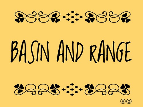Buzzword Bingo: Basin and Range