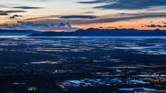 Great Salt Lake and Tesoro Refinery