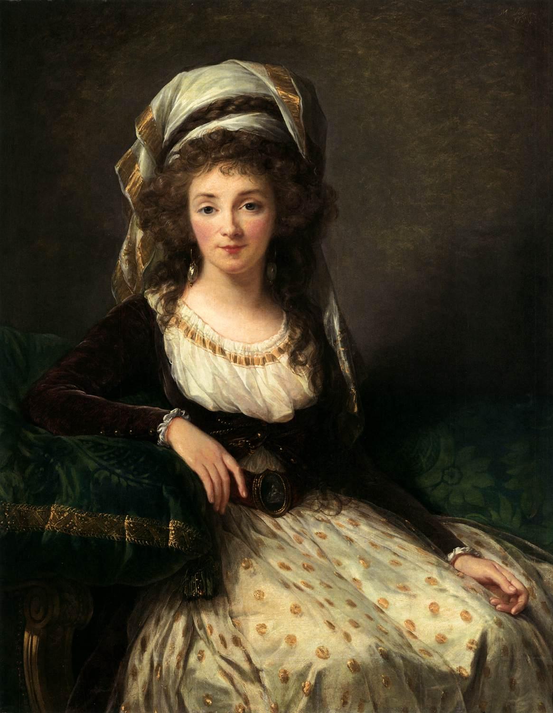 Madame d'Aguesseau de Fresnes by Élisabeth Vigée-Lebrun, 1789