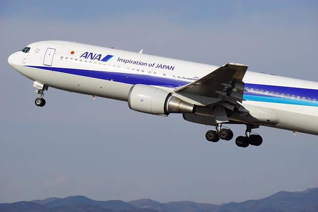 170309 ANA B767-300離陸1