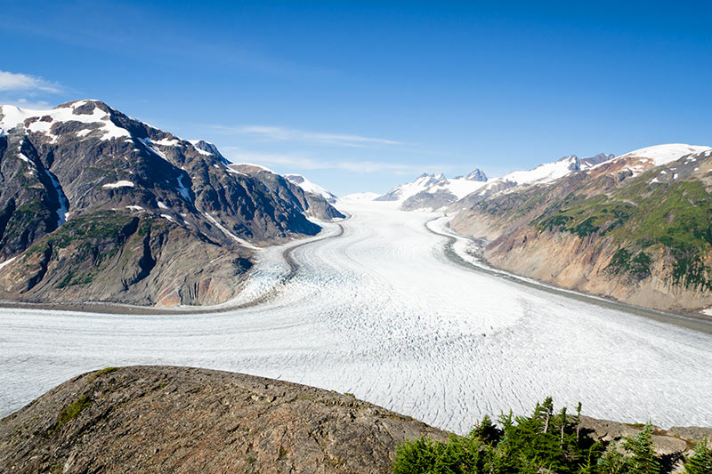 Salmon Glacier north of Stewart, Northern British Columbia, Canada