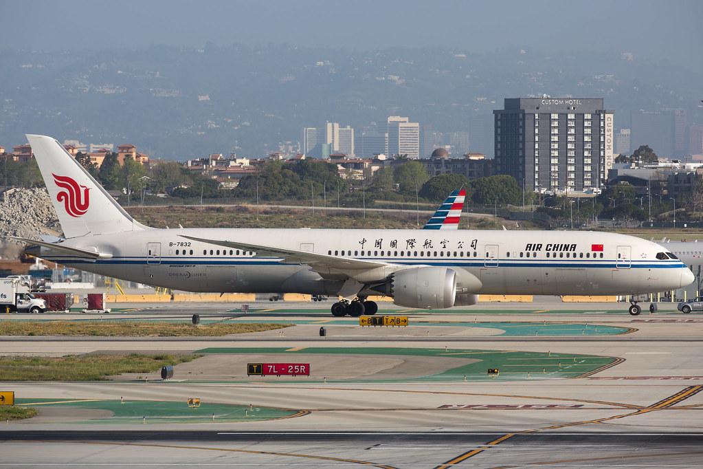 B-7832 - B789 - Air China