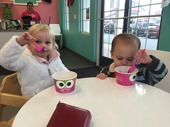 Their first frozen yogurt
